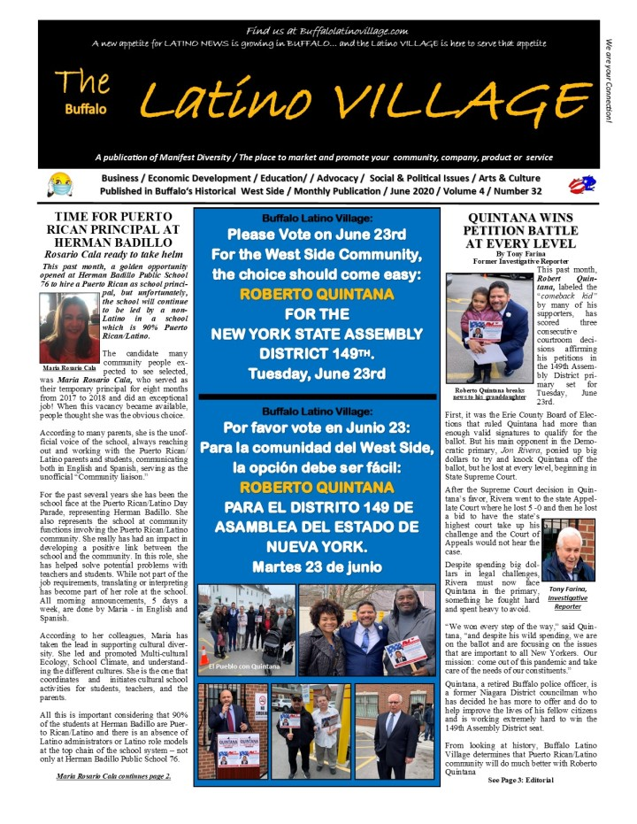 June Issue 2020 Page 1