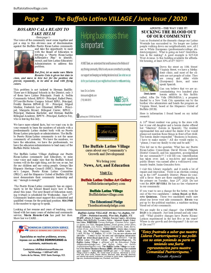 June Issue 2020 Page 2