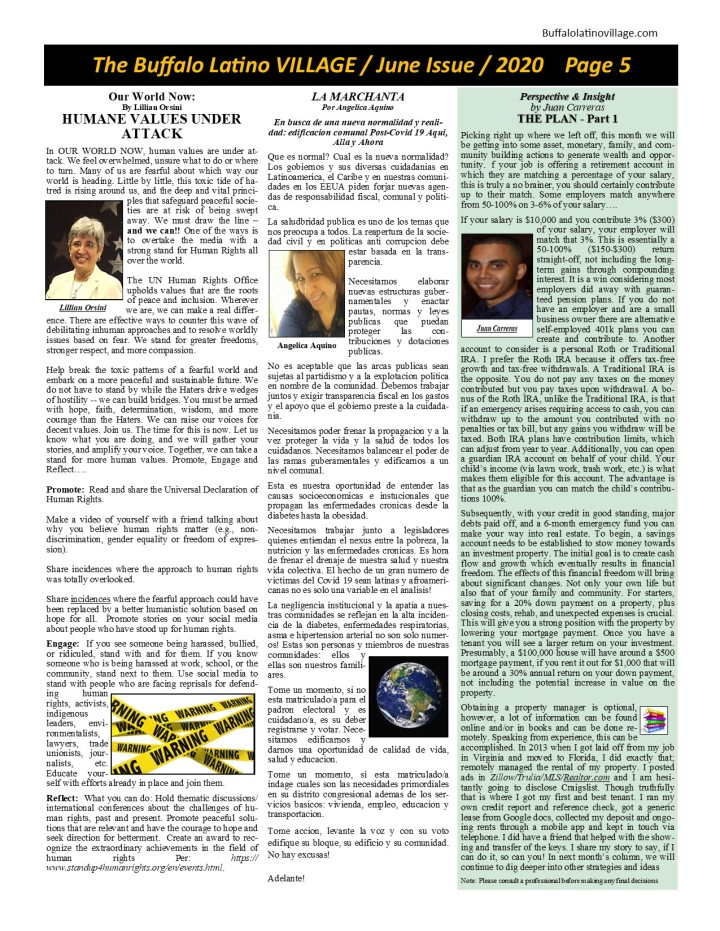 June Issue 2020 Page 5