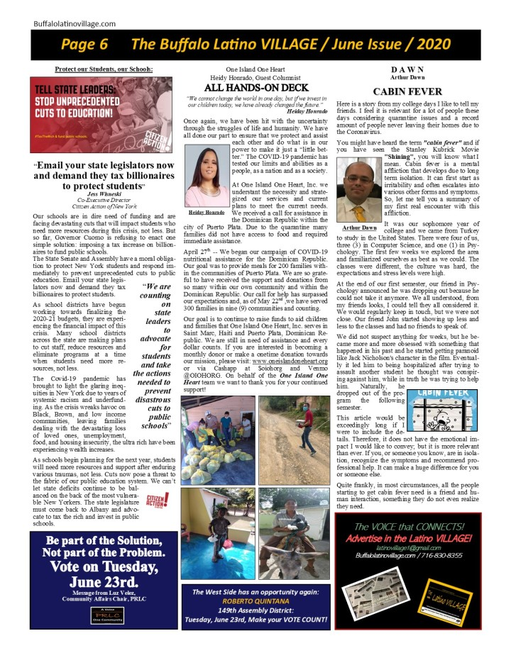 June Issue 2020 Page 6